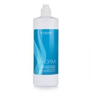 V-COLOR V-FORM Лосьон 1 для химической завивки для нормальных волос 900мл.
