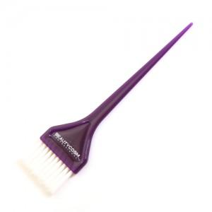 Кисть BEAUTYCOSM д/окрашивания фиолетовая натур. щетина