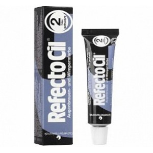 Краска для бровей и ресниц RefectoCil № 2 Иссиня-Черный