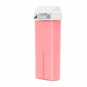 Воск для депиляции Dolche Vita Розовый с диоксидом титана картридж 100мл. (д/деликатных и чувств. зон)