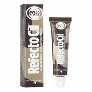 Краска для бровей и ресниц RefectoCil № 3 Коричневый