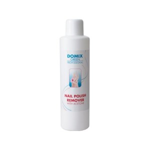 Domix Средство д/снятия всех видов лака с ацетоном Nail Polish Remover With Aceton 1л