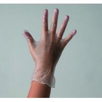 Перчатки Винил M неопудренные 100шт/уп
