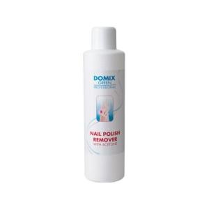 Domix Средство д/снятия всех видов лака с ацетоном Nail Polish Remover With Aceton 200мл