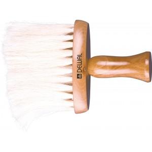 Кисть-сметка DEWAL,плоская, ручка-дерево, натуральная конская щетина арт.NB1435