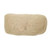 Валик для прически DEWAL, искусственный волос + сетка, блонд 18х11см арт.HO-PC Blond