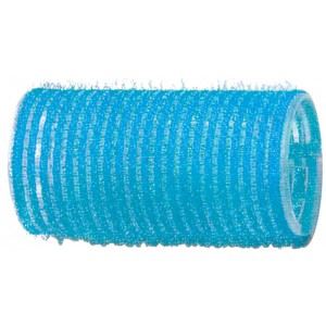 Бигуди-липучки DEWAL,голубые d 28 мм 12 шт/уп арт.R-VTR6