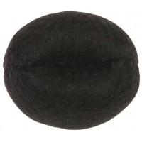 Валик для прически DEWAL, искусственный волос+сетка, коричневый d14 арт.HO-5141Brown