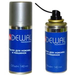 Масло-спрей DEWAL для ножниц и машинок 140мл. арт.03-140