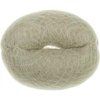 Валик для прически DEWAL , искусственный волос+сетка блондин d14см арт.HO-5141Blond