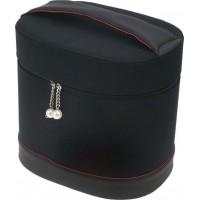 Сумка для парикмахерских инструментов DEWAL, полимерный материал, черно-красная,27х20х27,5см. арт.HP004BE