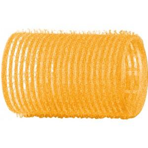 Бигуди-липучки DEWAL,желтые d 32 мм 12 шт/уп арт.R-VTR5