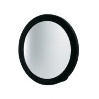 Зеркало заднего вида DEWAL,полимер, черное, с ручкой d 23,5 см арт.MR-9M22
