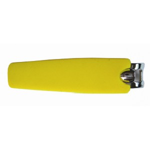 Книпсер Dewal Beauty с силиконовой ручкой, 6 см, цвета в ассортименте арт.NC-03