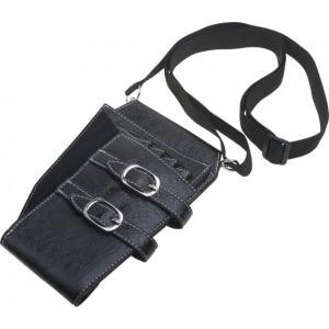 Кобура для ножниц DEWAL, иск.кожа,черная 12х21см арт.EF05B