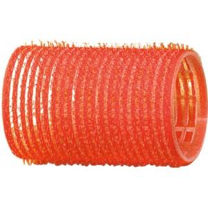 Бигуди-липучки DEWAL,красные d 36 мм 12 шт/уп арт.R-VTR4