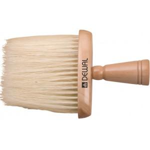 Кисть-сметка DEWAL, плоская, ручка- дерево, натуральная свиная щетина) арт.NB1401