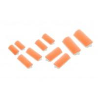 Бигуди поролоновые Dewal Beauty d 22ммx70мм(10шт) оранжевые арт.DBP22