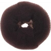 Валик для прически DEWAL, губка, коричневый d14см арт.HO-5117L Brown