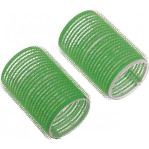 Бигуди-липучки Dewal Beauty d 48ммx63мм(10шт) зеленые арт.DBL48