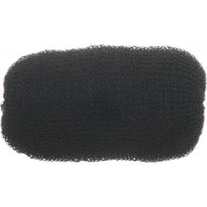 Валик для прически DEWAL, сетка, черный 12 см арт.HO-5114 Black