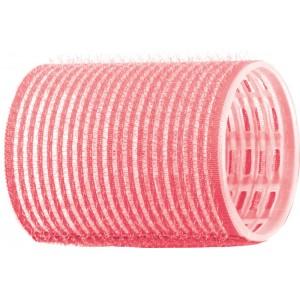 Бигуди-липучки DEWAL,розовые d 44 мм 12 шт/уп арт.R-VTR2