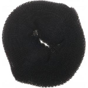 Валик для прически DEWAL, губка, черный d14см арт.HO-5117L Black