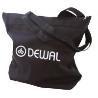 Сумка для парикмахерских инструментов DEWAL,полимерный материал,черная 43х44 см арт.C6-18