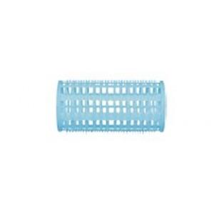 Бигуди пластик Dewal Beauty d38ммx76мм,(10 шт) голубые в комплекте шпильки р-р 80мм арт.DBPP38