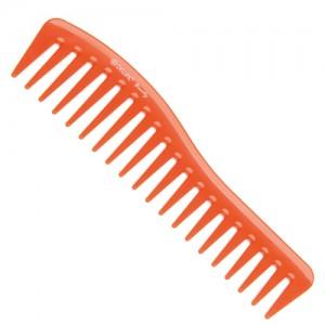 Гребень волна Dewal Beauty оранжевый 18,0см арт.DBO6260