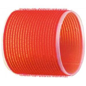 Бигуди-липучки DEWAL,красные d 70 мм 6шт/уп арт.R-VTR18