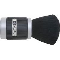 Кисть-сметка DEWAL, настольная, ручка-пластик прорезиненный, натуральная овечья щетина арт.NB3900