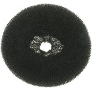 Валик для прически DEWAL,сетка,черный d14см арт.HO-5151Black