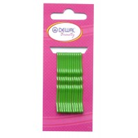 Невидимки Dewal Beauty волна 50 мм (12 шт) зеленые арт.N-12GREEN