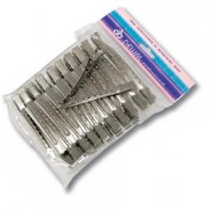 Зажим для волос DEWAL металл, 6,5 см 36 шт/уп арт.CL2405