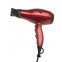 Фен DEWAL Profile Compact красный, 2000 Вт, ионизация, 2 насадки арт.03-119 Red