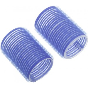 Бигуди-липучки DEWAL,синие d 16мм 12шт/уп арт.R-VTR9