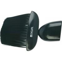 Кисть-сметка DEWAL, плоская, ручка-дерево, искусственная щетина арт.NB1442