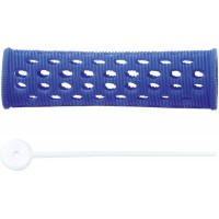 Бигуди пластиковые DEWAL,синие d 20 мм 12 шт/уп арт.RMHR4