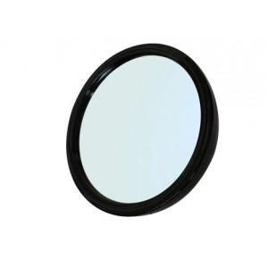 Зеркало заднего вида DEWAL, пластик, черное, с ручкой 23см арт.MR-9M45
