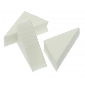 Губка макияжная DEWAL треугольная, (8 шт./упак) арт.N23