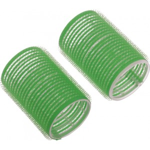 Бигуди-липучки DEWAL,зеленые d 20мм 12шт/уп арт.R-VTR8