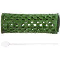 Бигуди пластиковые DEWAL, зеленые d 26 мм 12 шт/уп арт.RMHR3