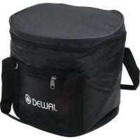 Сумка для парикмахерских инструментов DEWAL,полимерный материал, черная 27х23х25,5 см арт.C6-07 black