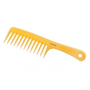 Гребень DEWAL PROSUN моделирующий, с ручкой, антистатик, желтый 24,5 см арт.CO-6808-SO