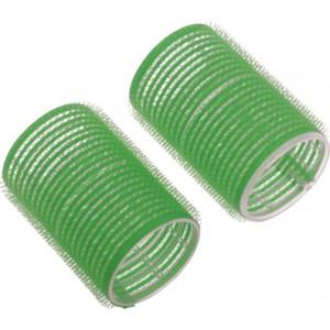 Бигуди-липучки DEWAL,зеленые d 61мм 6шт/уп арт.R-VTR16