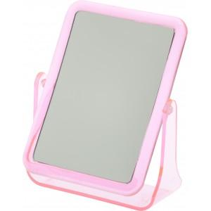 Зеркало Dewal Beauty настольное, в розовой оправе, 204x160x60мм арт.MR106