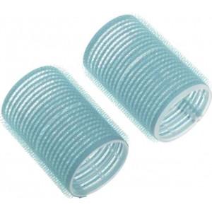 Бигуди-липучки Dewal Beauty d 28ммx63мм(10шт) голубые арт.DBL28