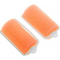 Бигуди поролоновые Dewal Beauty d 38ммx70мм(10шт) оранжевые арт.DBP38