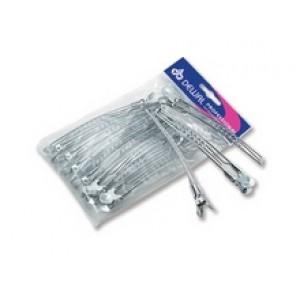 Зажим для волос DEWAL металл, 10 см, 12 шт/уп арт.CL2401